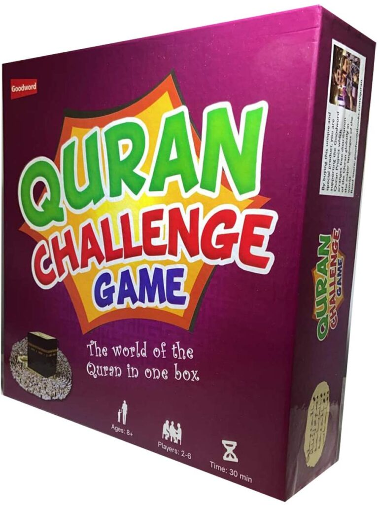 QURAN CHALLENGE,Board game,family game,Islamic.gifts,Muslim,Eid,entertainment,halal,Eid Al Adha,Dubai,UAE