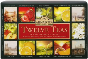Ahmad Tea,Tea,Gift set,12 Teas,green tea,fruit tea,black tea,gift ideas,present,Eid,tea party